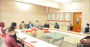 فوز كلية الصيدلة بالمركز الاول في الملتقى الثقافي الطلابي الاول للحوار